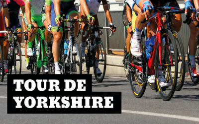 Enjoy the Tour De Yorkshire at Broad Street Plaza