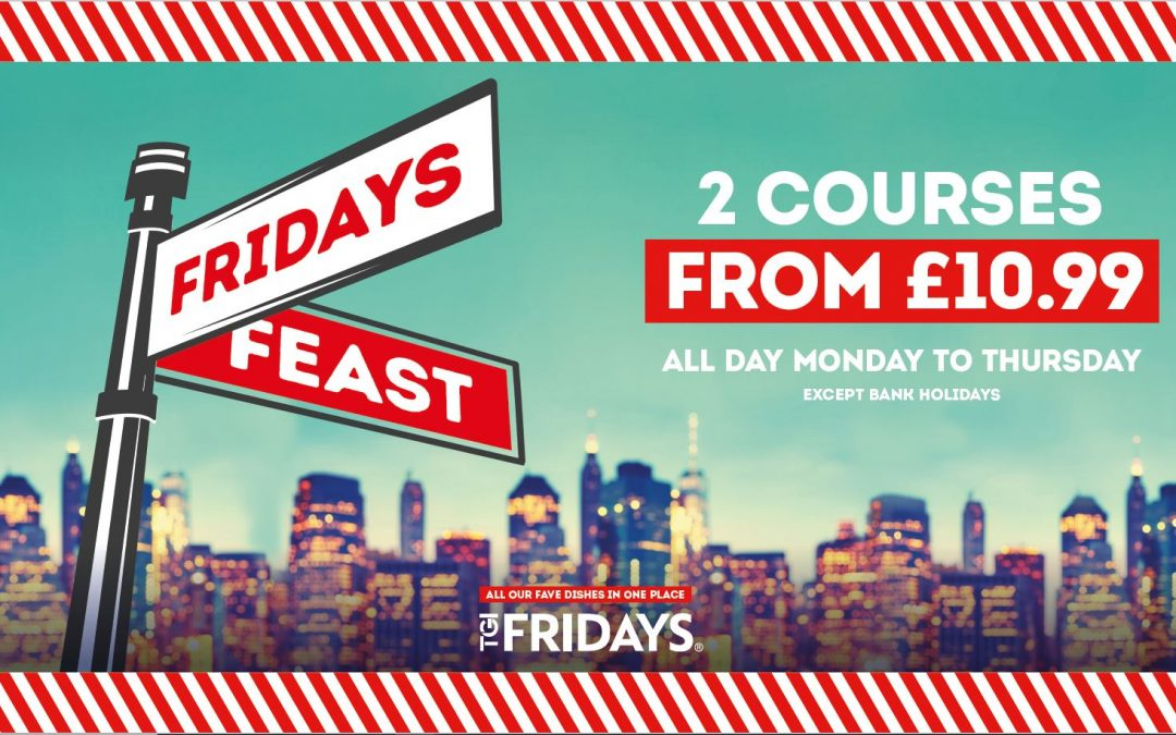 TGI Fridays Feast!