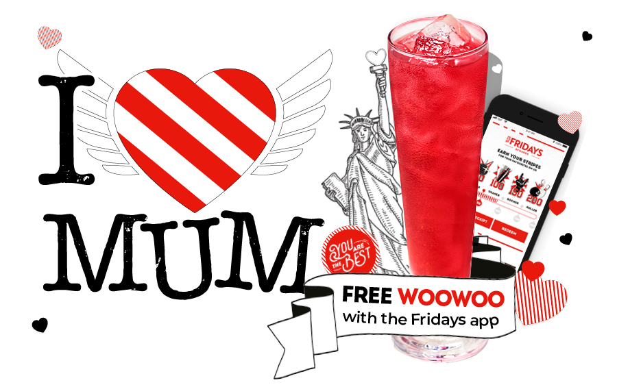 Treat mum like the superstar she is at TGI Fridays ⭐