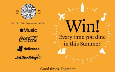 Win prizes this summer with Pizza Express