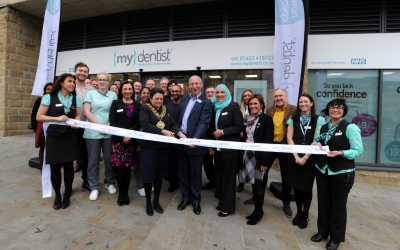 Mayor of Calderdale Officially Opens {my}dentist Practice at Broad Street Plaza
